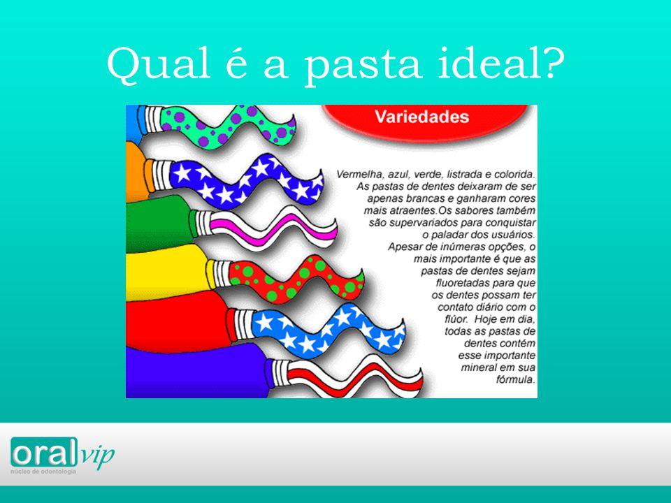 Qual é a pasta ideal?