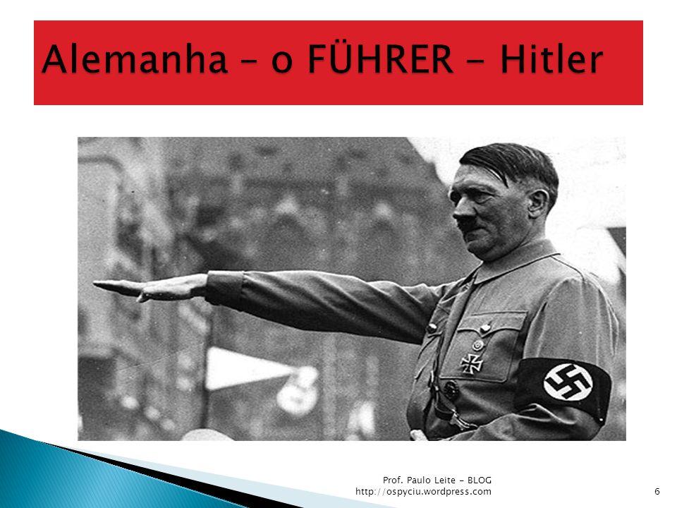 I Reich (até a unificação – 1870); República de Weimar (de 1919 até 1933); II Reich (de 1870 a 1919); III Reich (de 1933 até 1945).
