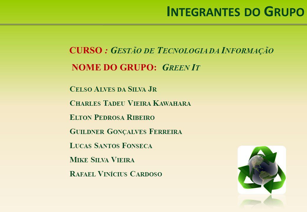 Referências Bibliográficas ITAUTEC.Sustentabilidade.