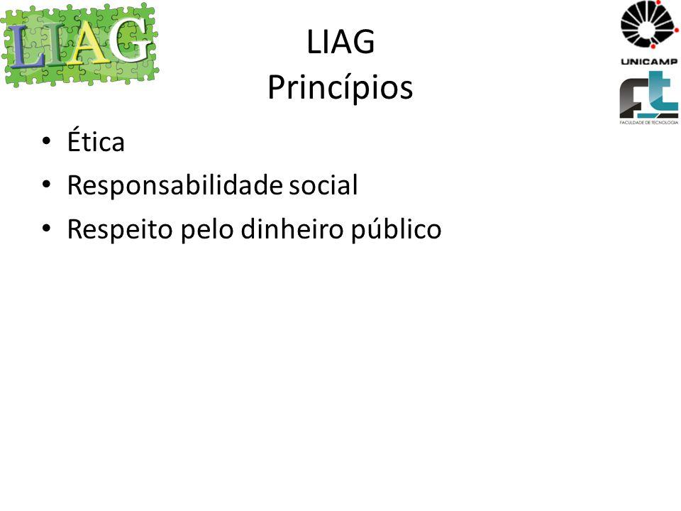 LIAG Valores Produtividade Trabalho em equipe Responsabilidade Assertividade Organização