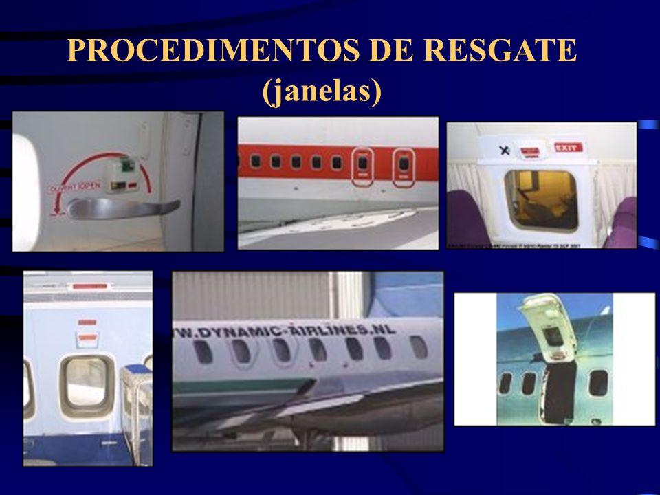PROCEDIMENTOS DE RESGATE (janelas)