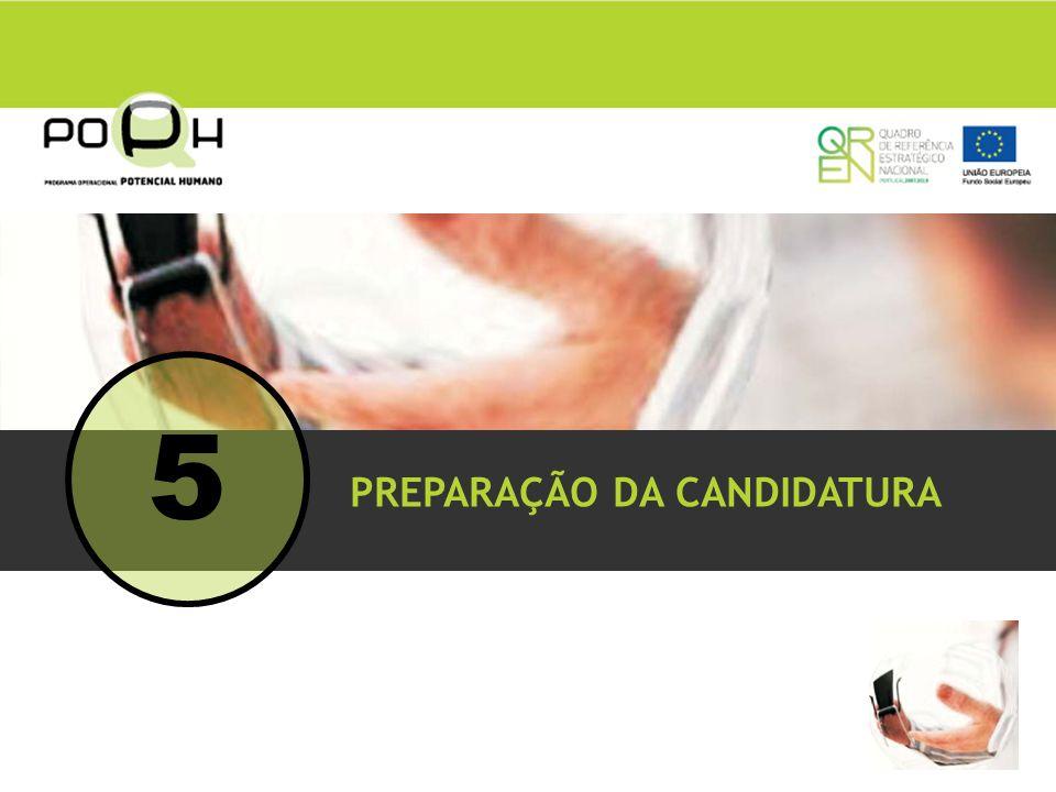 PREPARAÇÃO DA CANDIDATURA 5