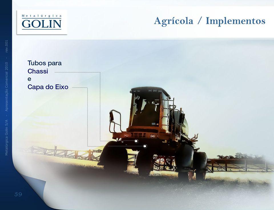 39 Agrícola / Implementos