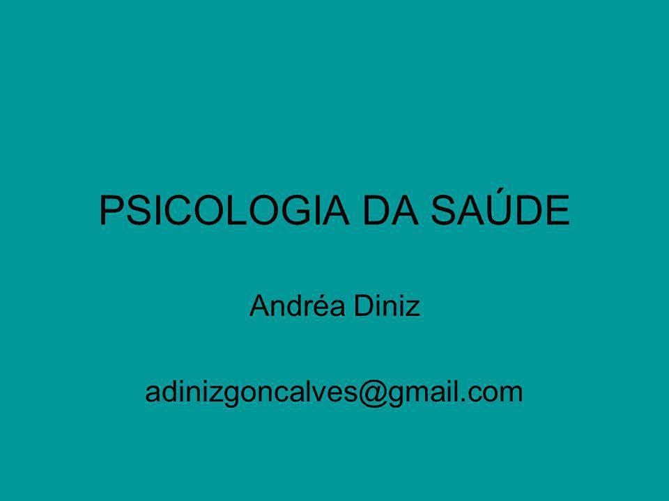 Uma Introdução à Psicologia da Saúde Os antecedentes da Psicologia da Saúde O que é o modelo biomédico.