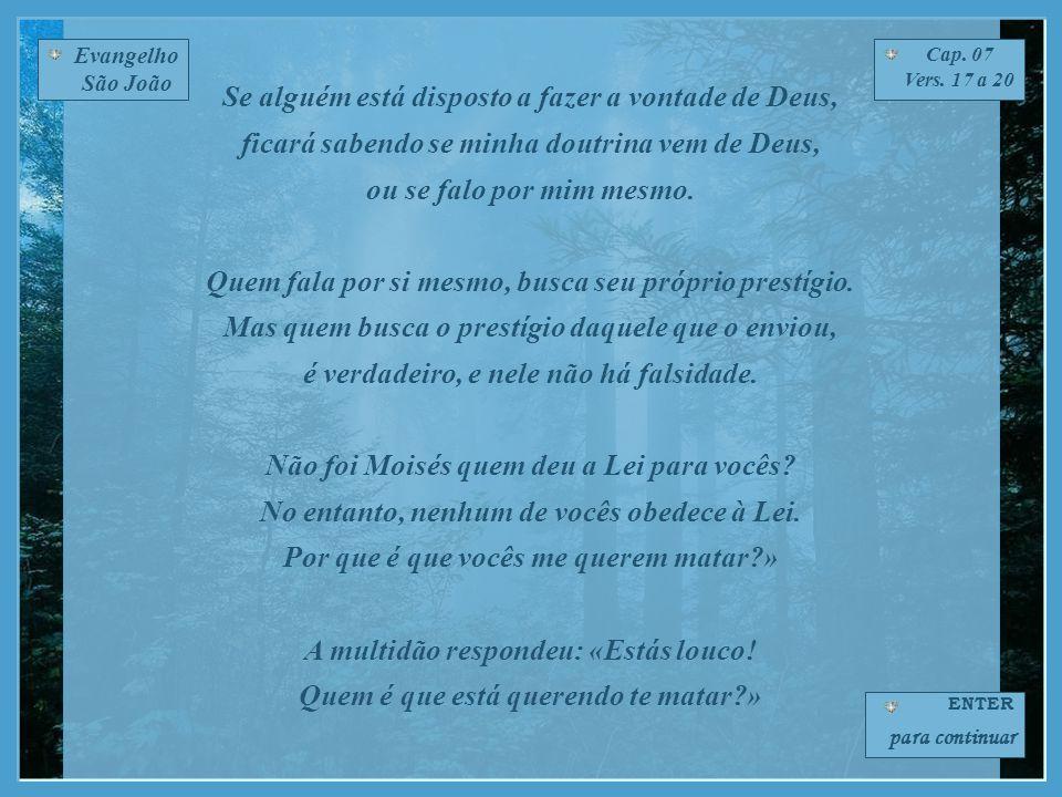 Evangelho São João Cap.07 Vers.