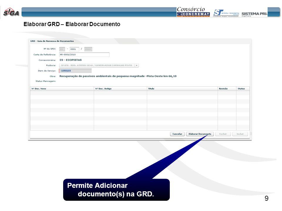 10 Selecione a Classe do Documento os itens Classe do Projeto e Subclasse serão disponibilizados de acordo com a opção selecionada.