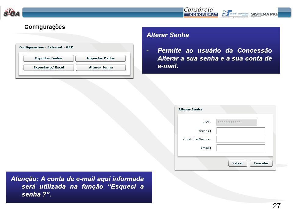 Informa ao usuário a versão do software que está em uso. Sobre 28
