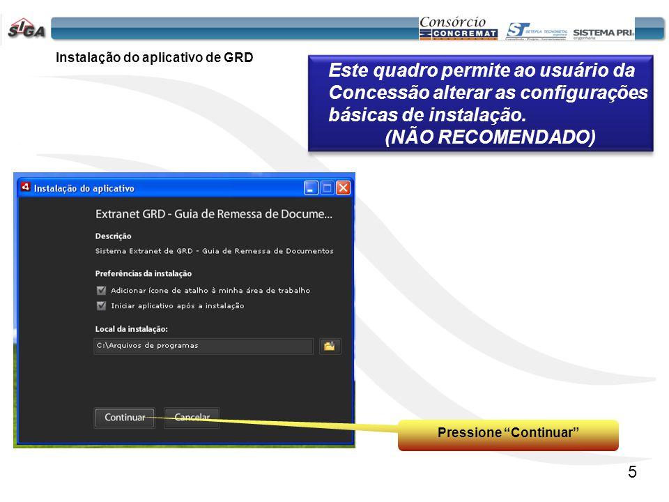 6 -Selecione a concessão -Digite o CPF -Digite a senha Pressione o botão Entrar Nota: A senha fornecida pela ARTESP para o primeiro acesso será 123456, o sistema irá obrigar a troca da senha.
