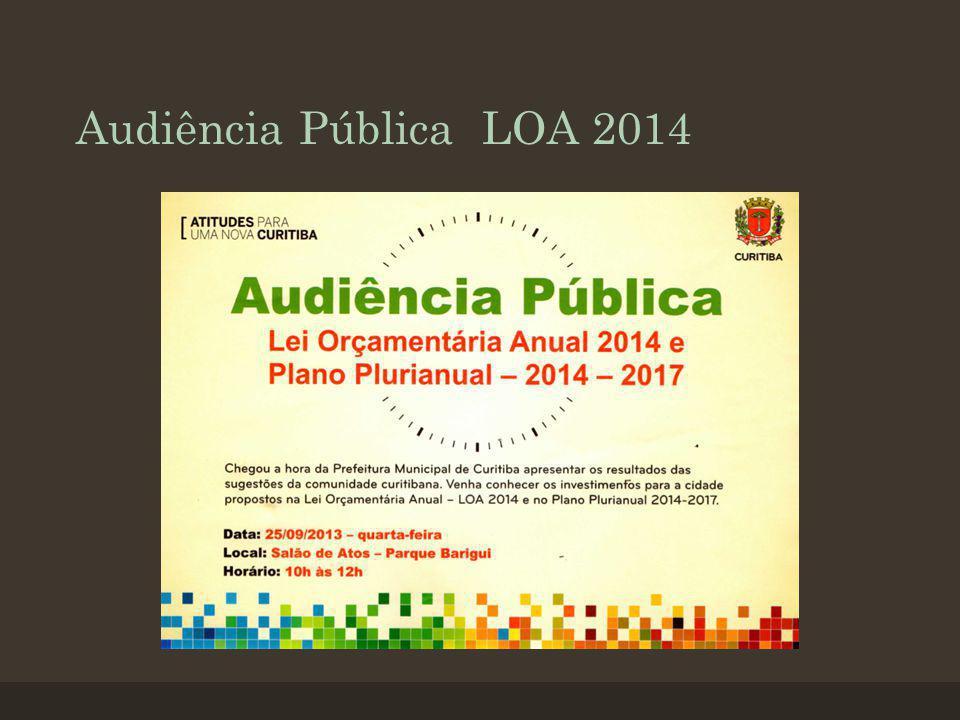 Audiência Pública LOA 2014