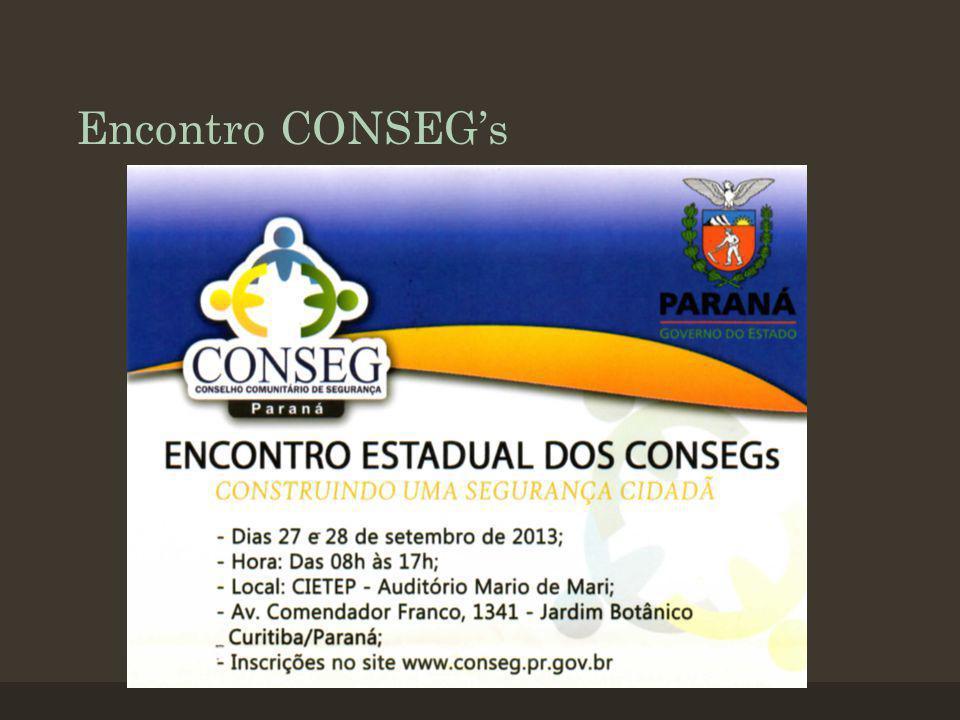 Encontro CONSEGs