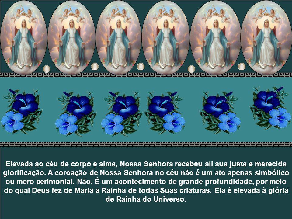 No dia 15 de agosto a Igreja celebra solenemente o dogma da Assunção de Nossa Senhora ao Céu. Sete dias depois de 15 de agosto, a Igreja celebra a fes
