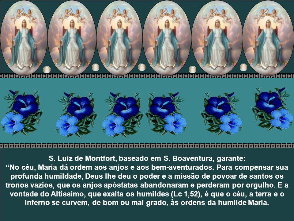 Portanto, afirmam os santos, aquele que é escravo de Jesus o é também de Maria. E devemos nos fazer escravos da Santíssima Virgem para deste modo nos