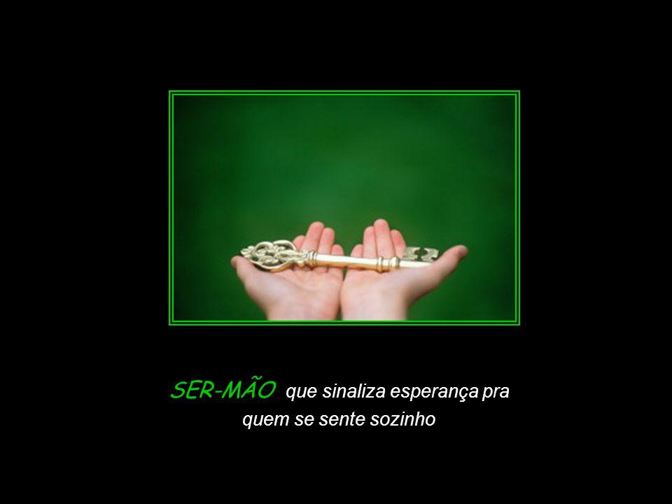 Slide feito por Luana Rodrigues em 06.09.03 – luannarj@uol.com.br luannarj@uol.com.br SER–MÃO que levanta quem caiu,
