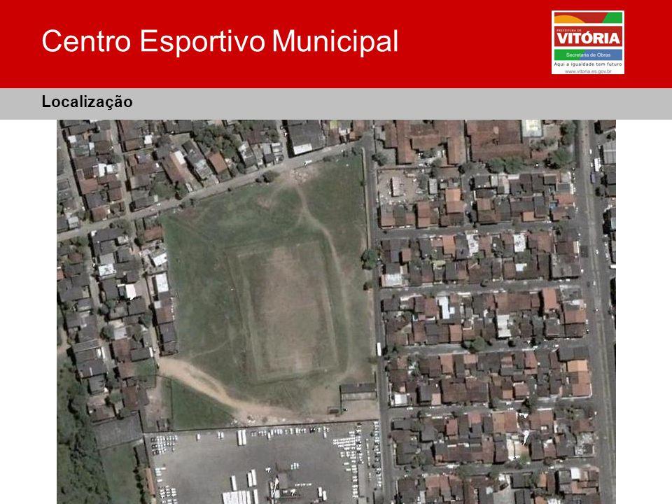 Centro Esportivo Municipal Localização