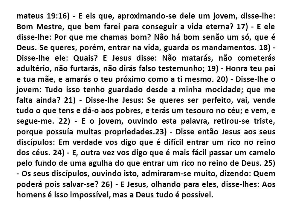 A incapacidade do homem ser salvo por merito próprio e que a salvação esta em Jesus