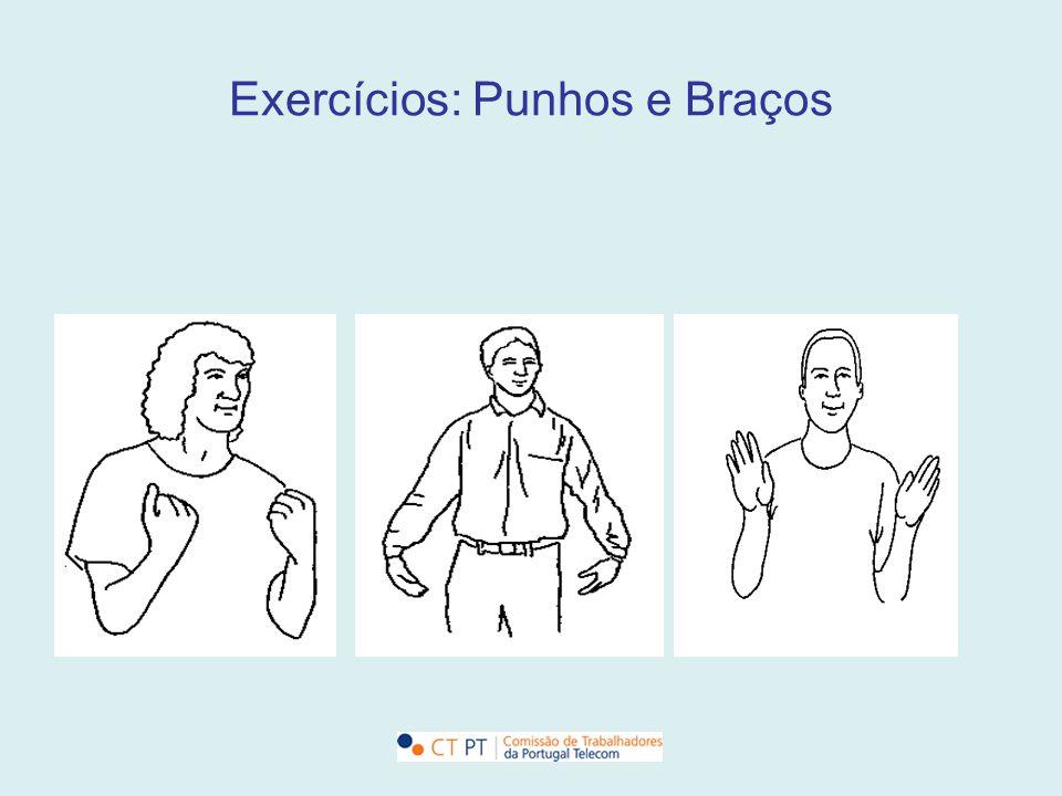 Exercícios: Punhos e Braços