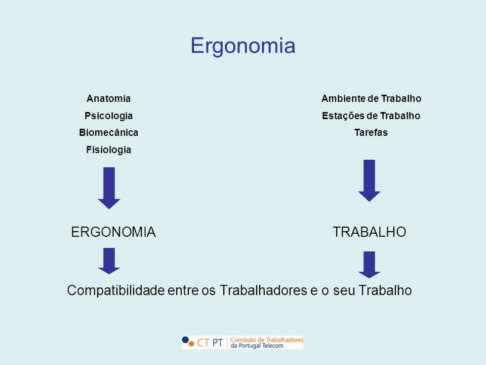 Ergonomia Industrial Escolar Transportes Sistemas Informáticos + EFICIÊNCIA + PRODUTIVIDADE + SEGURANÇA + SAÚDE