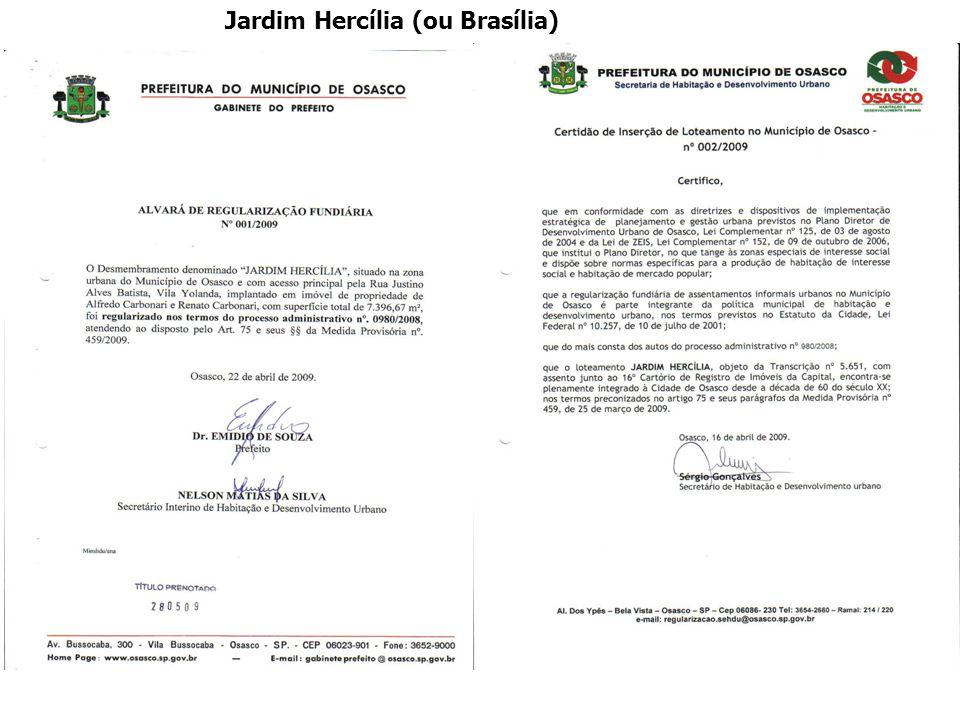 Jardim Hercília (ou Brasília)