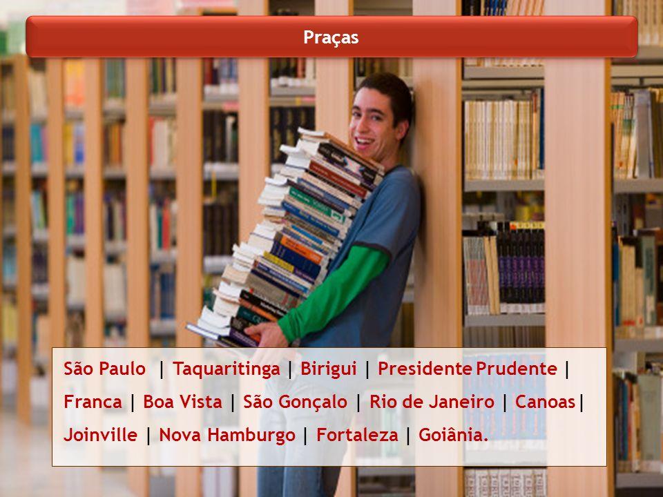 São Paulo | Taquaritinga | Birigui | Presidente Prudente | Franca | Boa Vista | São Gonçalo | Rio de Janeiro | Canoas| Joinville | Nova Hamburgo | For