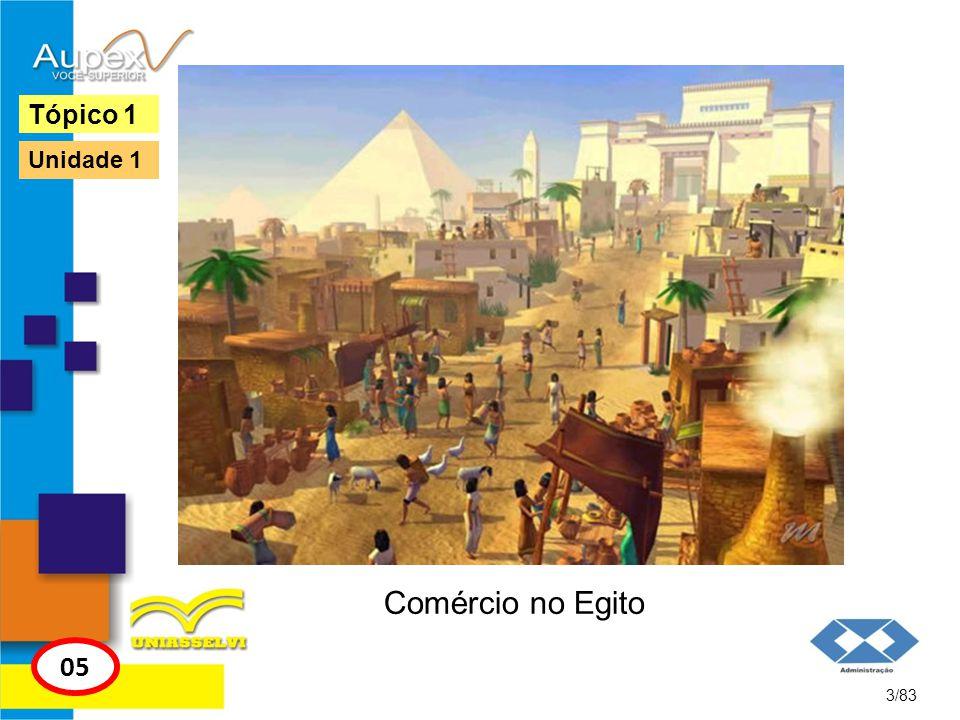 Comércio no Egito 3/83 Tópico 1 05 Unidade 1