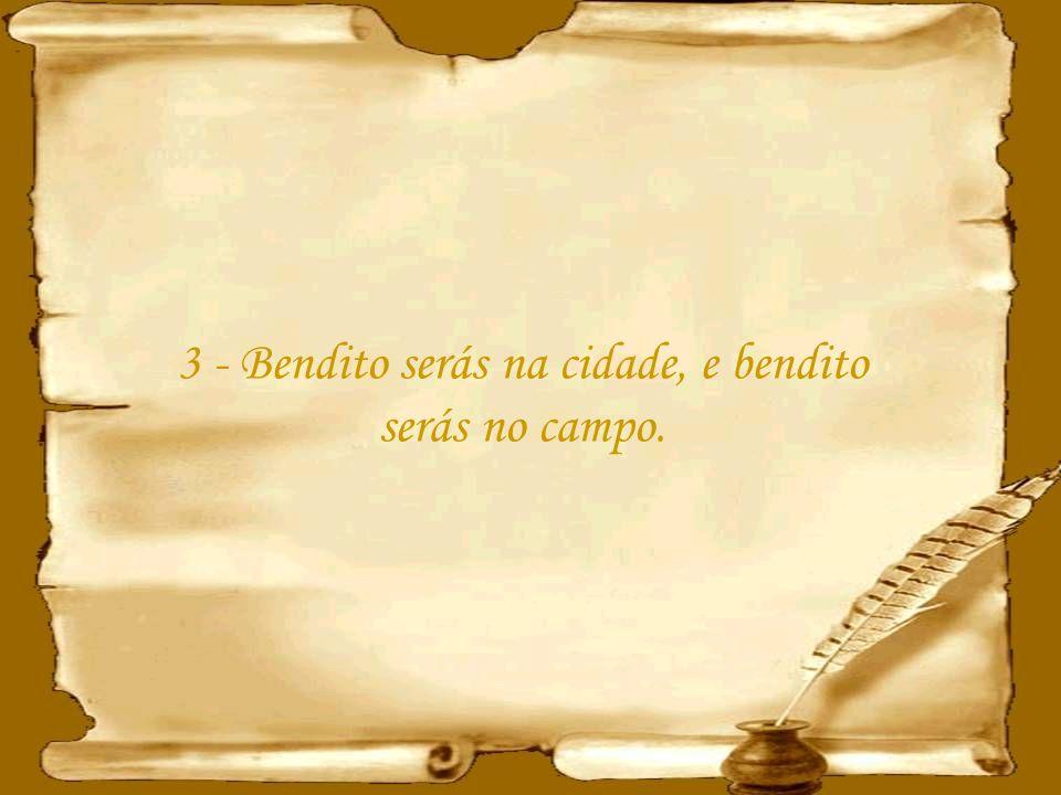 13 - E o Senhor te porá por cabeça, e não por cauda; e só estarás em cima, e não debaixo, se obedeceres aos mandamentos do Senhor teu Deus, que hoje te ordeno, para os guardar e cumprir.
