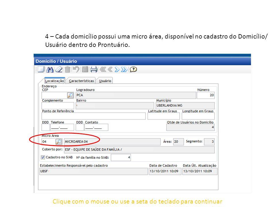 Clique com o mouse ou use a seta do teclado para continuar Onde encontrar os outros procedimentos.