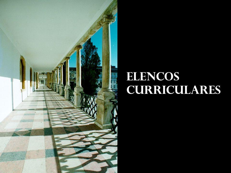 ELENCOS CURRICULARES