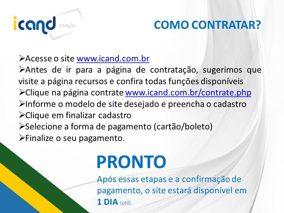 REPRESENTE ESSA IDÉIA Você tem interesse em ser representante da ICAND Eleições 2012 em sua cidade ou região.