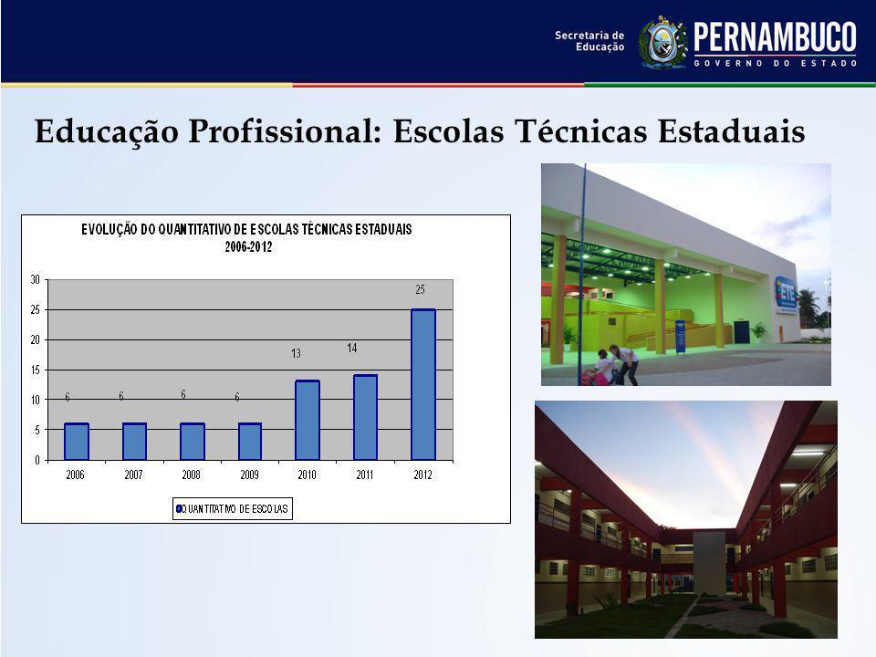 Educação Profissional: Escolas Técnicas Estaduais