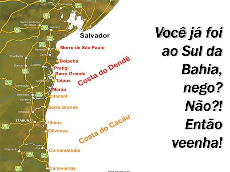 Você Você já foi ao Sul da Bahia, nego? Não?! Então veenha! Você Você já foi ao Sul da Bahia, nego? Não?! Então veenha!