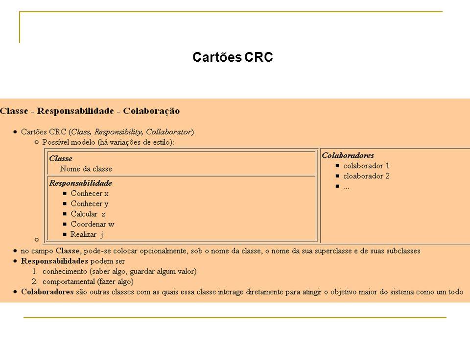 Cartões CRC