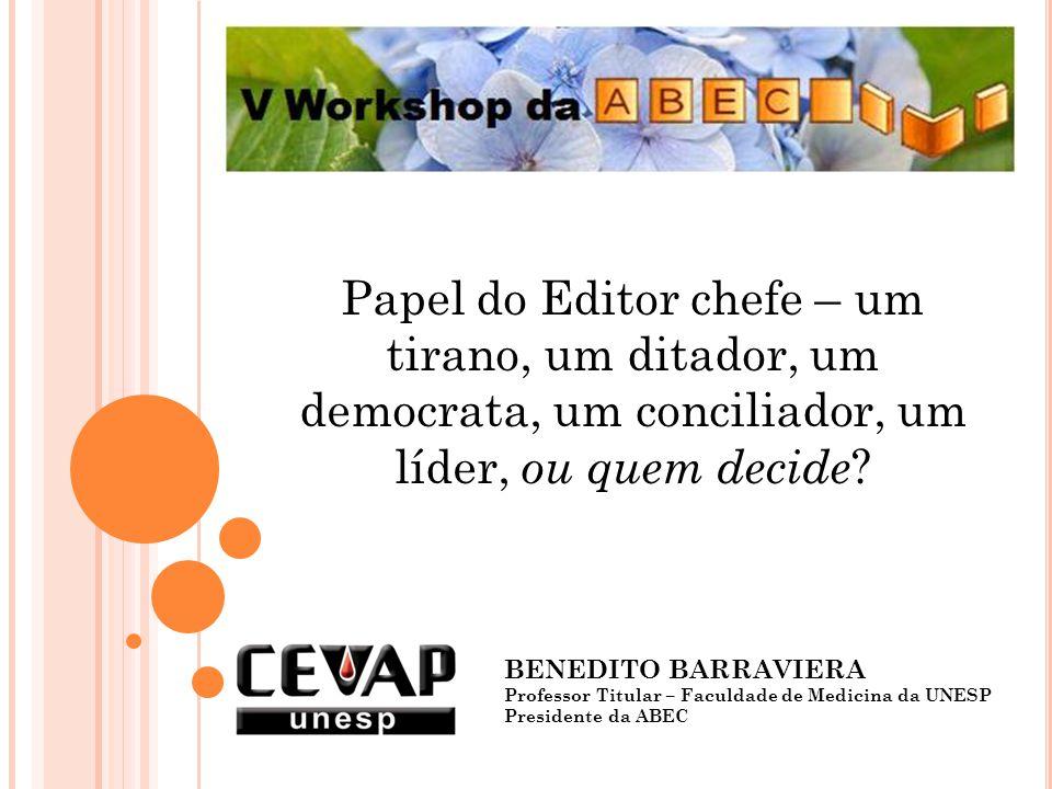 O periódico poderá crescer, ganhar credibilidade, tornar-se uma publicação de muito prestígio, como poderá decair e sucumbir em pequeno espaço de tempo.