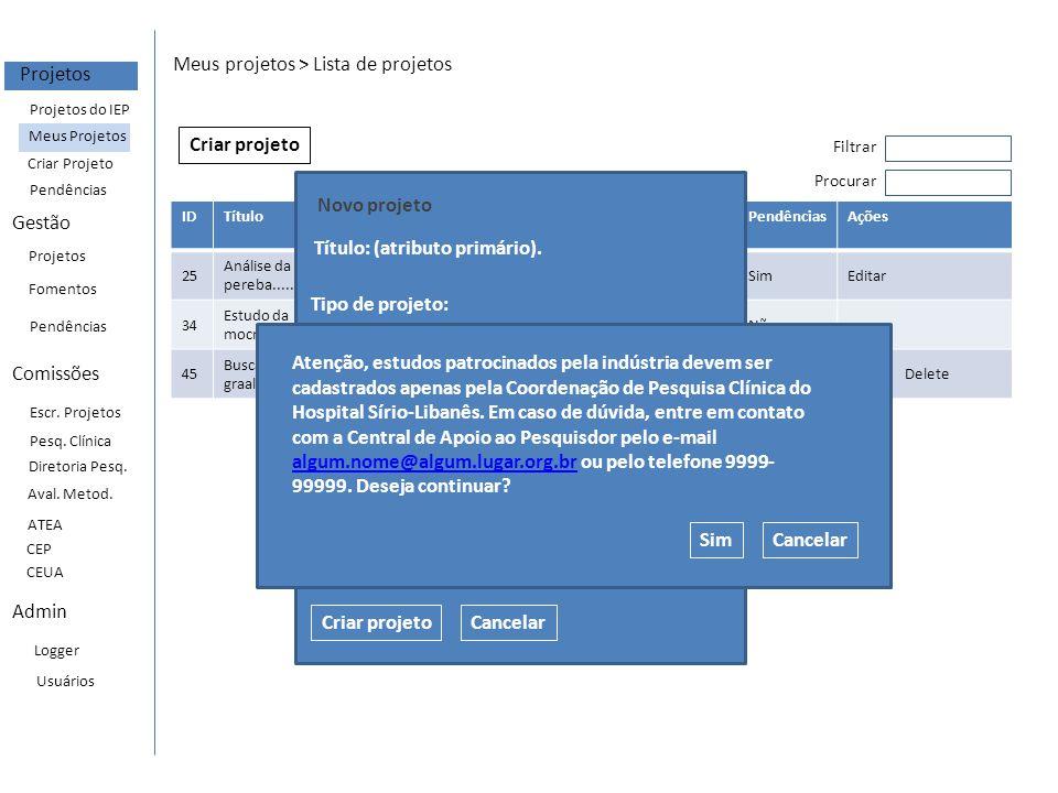 EventRequests Event type = avaliacao_inicial_ppcp Request type = avaliacao_inicial_prneea_informacoes_gerais Request type = avaliacao_inicial_prneea_detalhamento Request type = avaliacao_inicial_equipe Request type = avaliacao_inicial_documentos Request type = avaliacao_inicial_submissao Tipo de projeto = Projeto de pesquisa clínica patrocinada (ppcp) Event type = orcamento_inicial_ppcp Event type = contrato_inicial_ppcp Request type = orcamento_inicial_ppcp Request type = contrato_inicial_ppcp