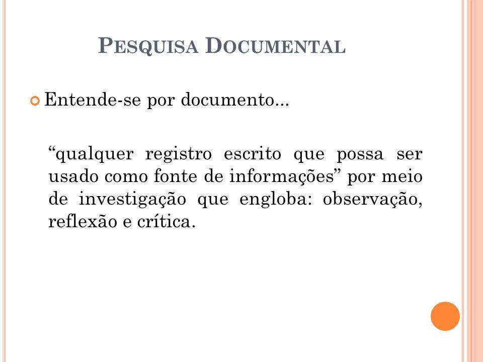 Entende-se por documento...