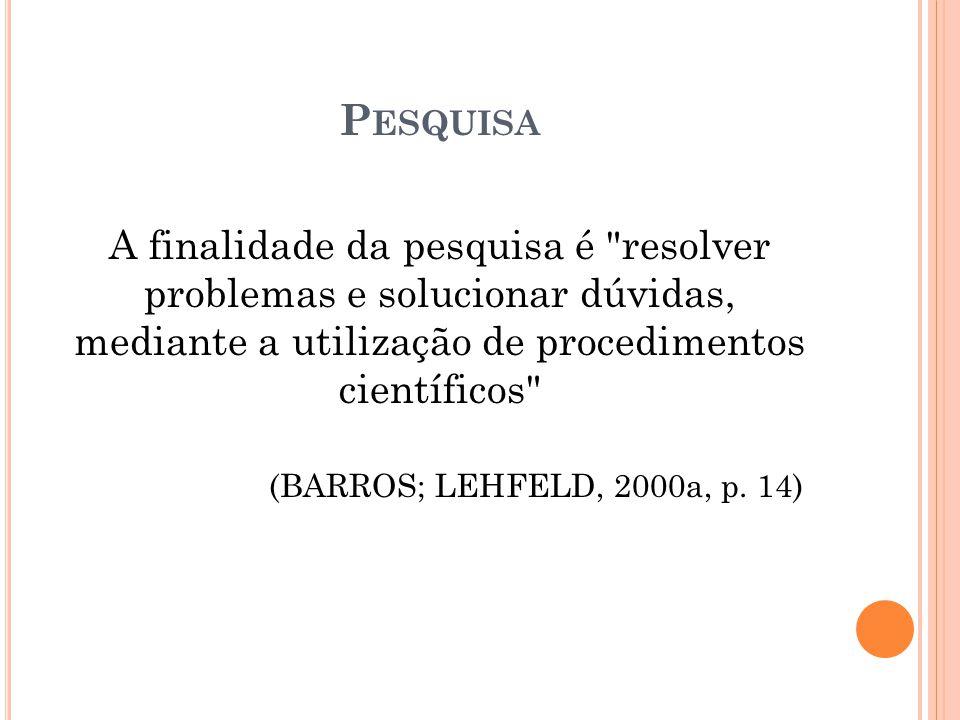 C LASSIFICAÇÃO