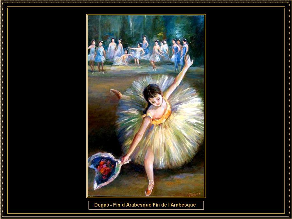 Degas - Ballet Rehearsal