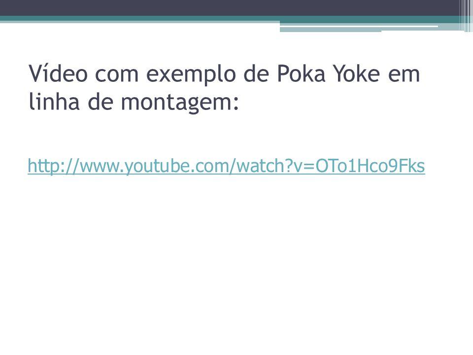 Vídeo com exemplo de Poka Yoke em linha de montagem: http://www.youtube.com/watch?v=OTo1Hco9Fks