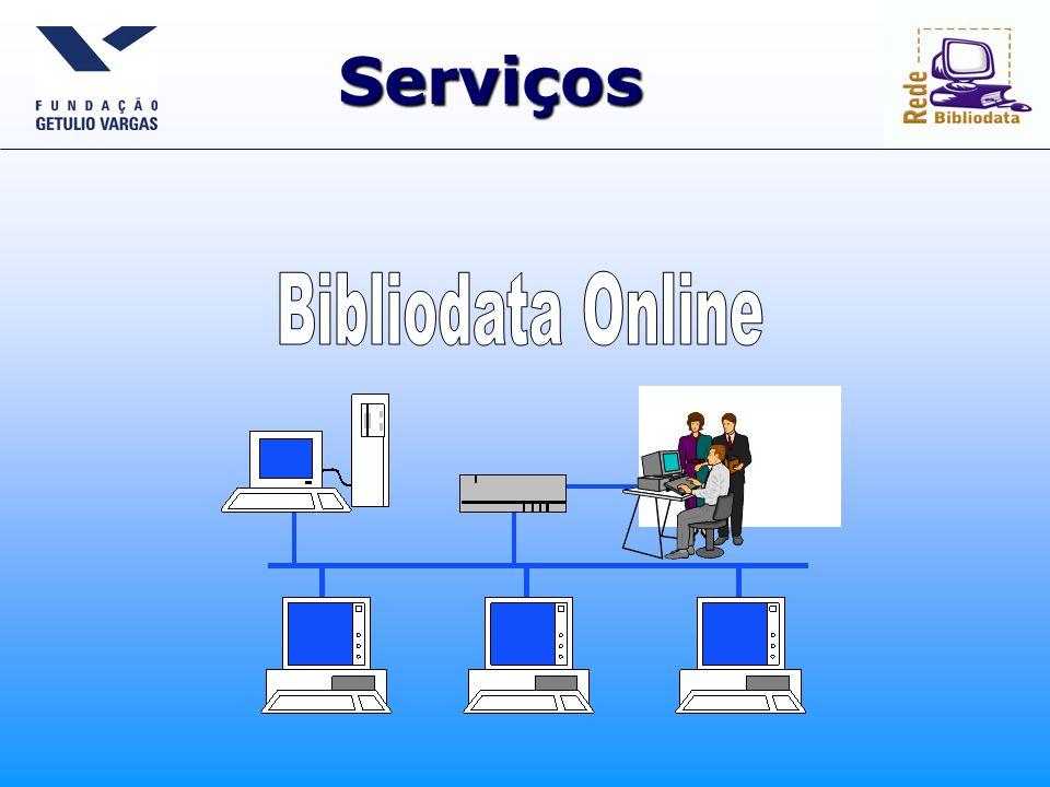 Página pública http://www.bibliodata.fgv.br
