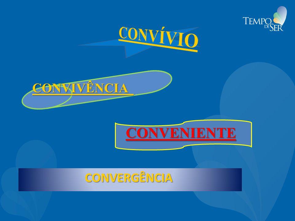 CONVIVÊNCIA CONVIVÊNCIA CONVENIENTE CONVERGÊNCIA