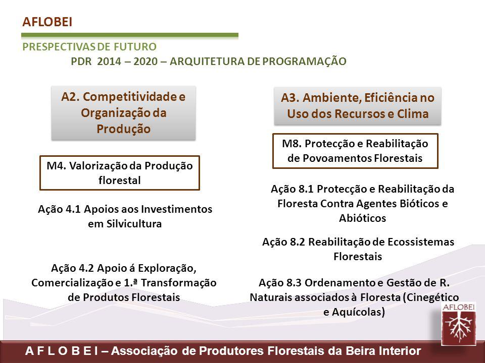 AFLOBEI PRESPECTIVAS DE FUTURO PDR 2014 – 2020 – ARQUITETURA DE PROGRAMAÇÃO A F L O B E I – Associação de Produtores Florestais da Beira Interior A2.