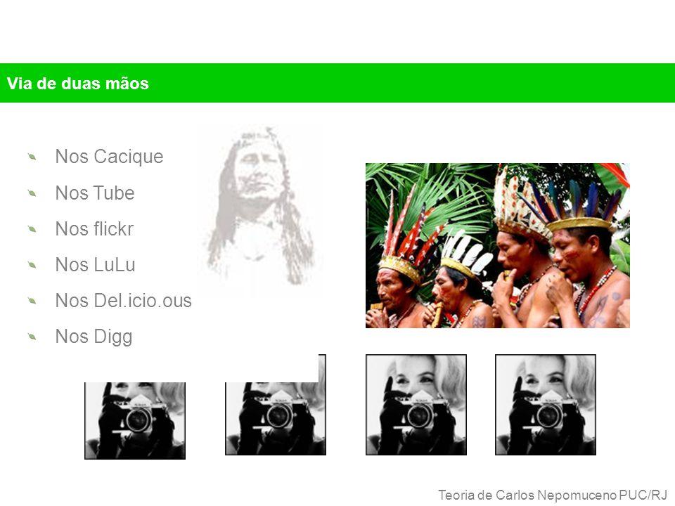 Via de duas mãos Nos Cacique Nos Tube Nos flickr Nos LuLu Nos Del.icio.ous Nos Digg Teoria de Carlos Nepomuceno PUC/RJ
