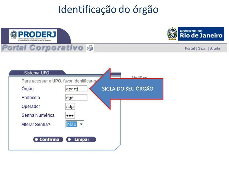 SIGLA DO SEU ÓRGÃO