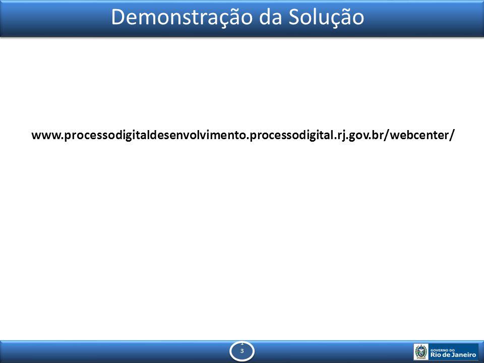 1313 1313 Demonstração da Solução www.processodigitaldesenvolvimento.processodigital.rj.gov.br/webcenter/