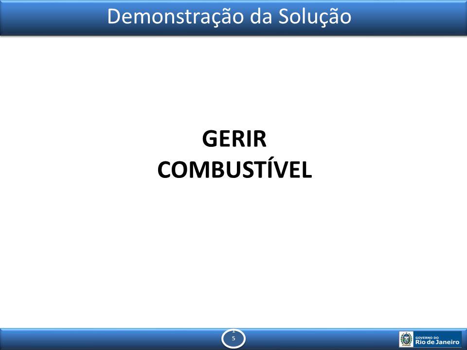 1515 1515 Demonstração da Solução GERIR COMBUSTÍVEL