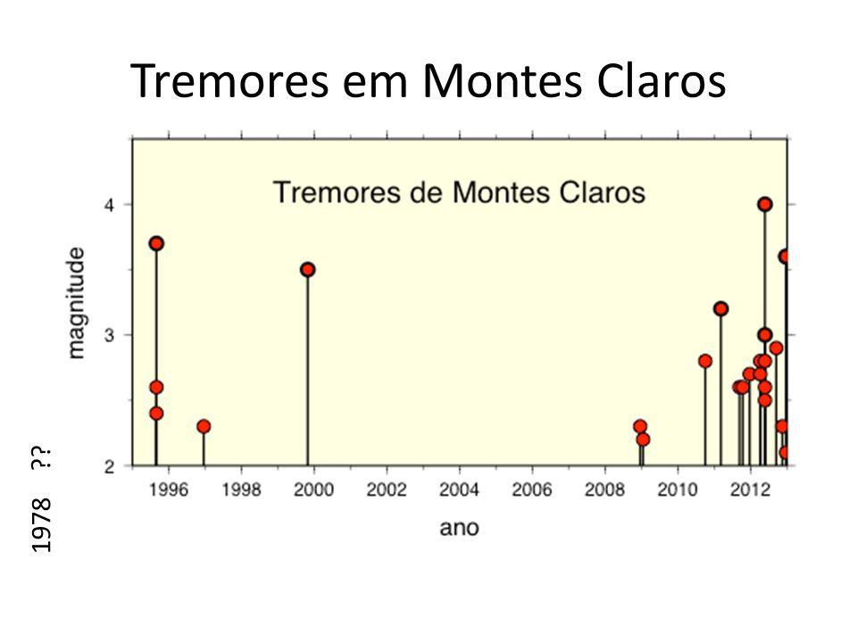 Tremores em Montes Claros 1978 ??