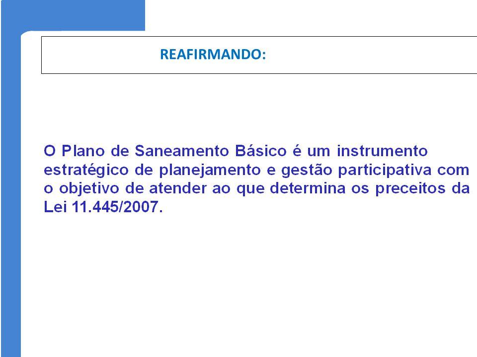 REAFIRMANDO: