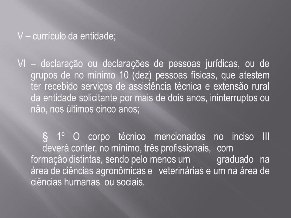§ 2º Os documentos mencionados nos incisos I, II, V e VI deverão ser fornecidos na forma digitalizada.