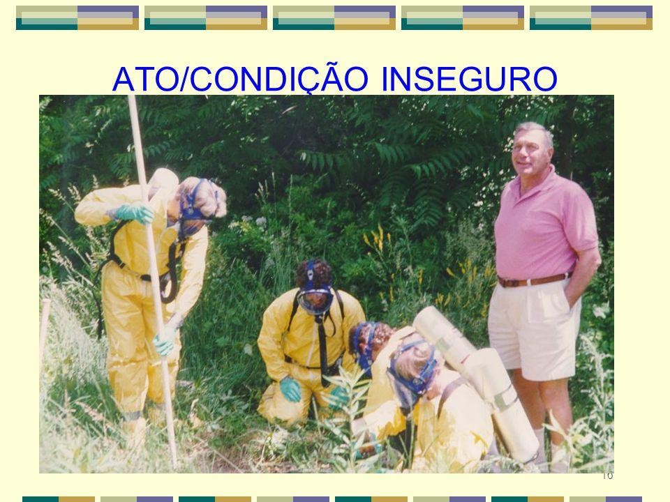 16 ATO/CONDIÇÃO INSEGURO