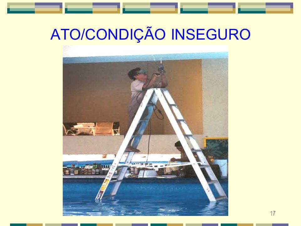 17 ATO/CONDIÇÃO INSEGURO