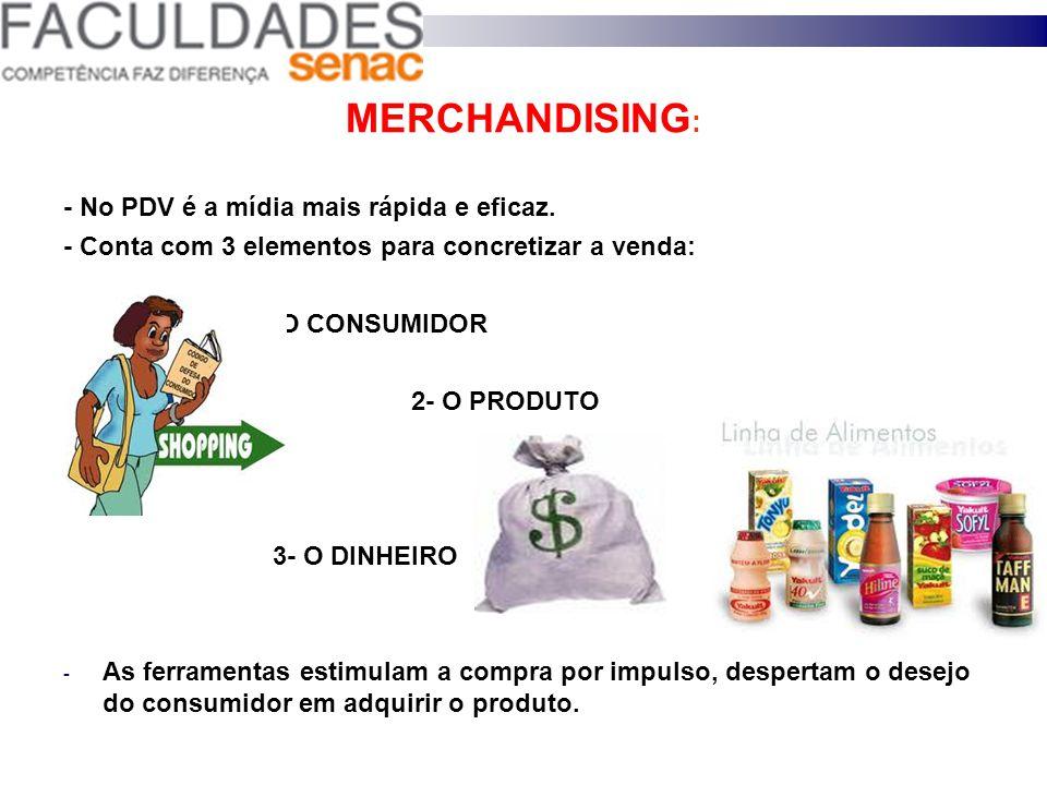 8) DISPOSIÇÃO DE PRODUTOS Estoque no PDV: - Alimentos = bom estoque Roupas = mostrar exclusividade